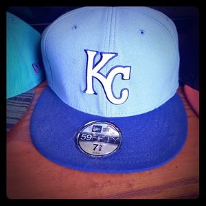 Kansas city fitted hat
